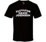Elevator Ernie Johnson T-shirt