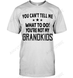You Can't Tell Me What To Do You're Not My Grandkids T-shirt