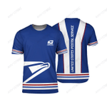 Proud USPS 3D All Over Printed Tshirt