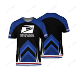 Proud USPS 3D All Over Printed T-shirt