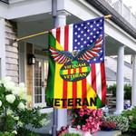 Vietnam Veteran American Flag