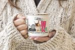 Life Is Better At The Allotment Personalized Campfire Mug