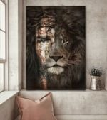 Jesus Lion Poster