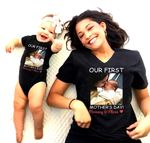 Our First Mother's Day Together Personalized Shirts