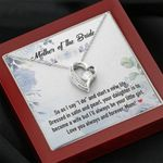 Mother Of The Bride Forever Love Necklace