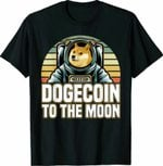 Dogecoin To The Moon T-shirt