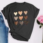 Melanin Hearts T-shirt