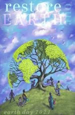 Restore Our Earth Earth Day 2021 Poster Canvas