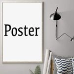 Vertical Poster Canvas