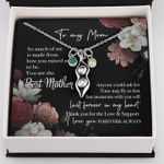 To My Mom Pea In Pod Necklace