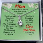 Mom Thanks For Being The Best Role Model Alluring Beauty Necklace