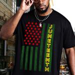 American Flag Juneteenth T-shirt