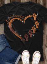 Melanin Heart Juneteenth T-shirt