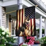 American Flag Pet Personalized Flag