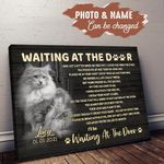 Maine Coon WATD Personalized Cat Memorial Gift Wall Art Horizontal Poster Canvas
