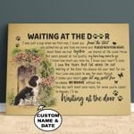 WATD Personalized Dog Memorial Gift Wall Art Horizontal Poster Canvas