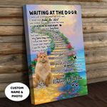 Maine Coon WATD Personalized Cat Memorial Gift Wall Art Vertical Poster Canvas