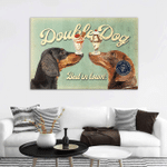 Double Dog Ice Cream Parlour Wall Art Horizontal Poster Canvas