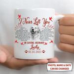 I Never Left You Pet Memorial Personalized Mug