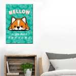 Corgi Marshmallow Wall Art Vertical Poster Canvas