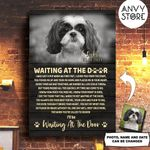 Shih Tzu WATD Personalized Pet Memorial Gift Wall Art Vertical Poster Canvas