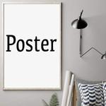 Pomeranian WATD Personalized Pet Memorial Gift Wall Art Vertical Poster Canvas