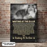 Sheltie WATD Personalized Pet Memorial Gift Wall Art Vertical Poster Canvas
