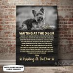 Yorkshire Terrier WATD Personalized Pet Memorial Gift Wall Art Vertical Poster Canvas