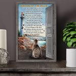 Tabby Cat WATD Personalized Pet Memorial Gift Wall Art Vertical Poster Canvas