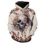 Flower Skull T-Shirt/Hoodie/Sweatshirt