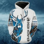 Deer Hunter 2 Blue Camo T-Shirt/Hoodie/Sweatshirt