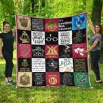 HP Ver 17 Quilt Blanket