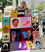 The Office Lover 1 Quilt Blanket