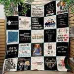 Grey Lover Ver 9 Quilt Blanket