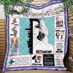 Grey Lover Ver 6 Quilt Blanket