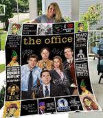 The Office Lover 2 Quilt Blanket
