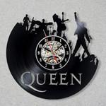 Wall Clock Queen Rock Band Modern Design Music Home Decor