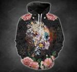 Black Maude Skull Flower T-Shirt/Hoodie/Sweatshirt