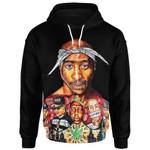 Tupac Shakur Black Ver. T-Shirt/Hoodie/Sweatshirt