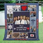 Grey Lover Ver 10 Quilt Blanket