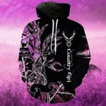 Purple Country Girl On Black T-Shirt/Hoodie/Sweatshirt