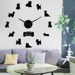 Wall Clock Westie Dog Home Decor