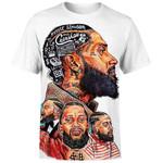 King Nipsey White Ver T-Shirt/Hoodie/Sweatshirt