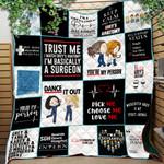 Grey Lover Ver 7 Quilt Blanket