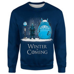 GOT x Totoro Winter Is Coming T-Shirt/Hoodie/Sweatshirt