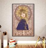 Stevie Nicks Poster Mucha Art Nouveau