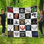 HP Ver 18 Quilt Blanket
