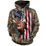 Deer Flag T-Shirt/Hoodie/Sweatshirt