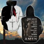 The Devil Saw Me Horse Jesus T-Shirt/Hoodie/Sweatshirt