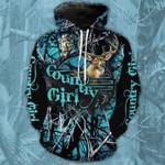 Country Girl Blue Camo T-Shirt/Hoodie/Sweatshirt